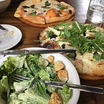 Great Pizza and Salad