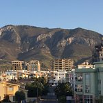 View from the hotel of the Kyrenia Mountains