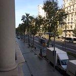 Avenida Diagonal from our balcony