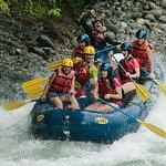 Enjoying the beautiful Río Savegre in Costa Rica!
