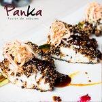 Sakana al ajonjolí y quinoa