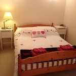 Double room bed and furnishings