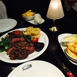 """This is a must get """"steak to share"""""""