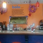 Breakfast and lunch at Bolo's.