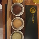 Selection of gelato