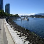 Seawall in Vancouver Foto