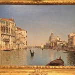 The place has a very large collection of beautiful Venice paintings.