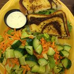 California Chicken Sandwich with Salad
