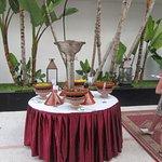 soirée marocaine, entrée du restaurant