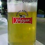 a draft beer