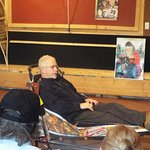 Jeff King himself leads the talk on the Iditarod