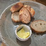breads - a full plate was presented- $10