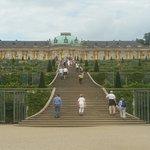 Palace and Park Sanssouci Lustgarten