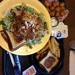 Zalad, Cheddar Bites, and Platter Meal