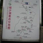 mapa das cavernas