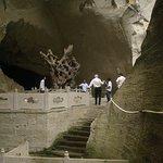 Parte inferior da caverna