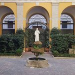 Just a few pictures to capture the beautiful Palazzo Cardinal Cesi. It was a true oasis from Rom