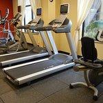 fitness area - aerobic equipment