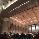 Cleveland Orchestra Summer Concert Series playing in the beautiful art deco Severance Hall