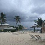 Beach cove at hotel