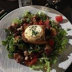Salade de chèvre chaud (1/2 portion)
