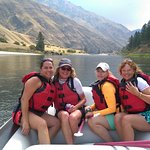 Salmon Raft Foto