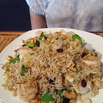 Fried Rice with Shrimp and Scallop !