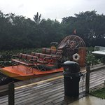 Air boat where you do the tour