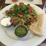 Wonderful fish tacos in this healthy Thai spot!