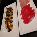 Tuna and Yellowtail
