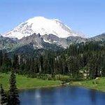 Reflection Lake & Mt Rainier -