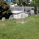 It is very interesting to read the grave markers and old metal poastings.