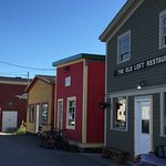 Main street in Woody Point