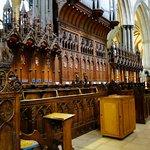 Choir Stalls--Salisbury