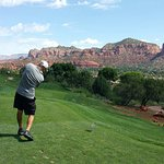 Sedona Golf Resort next to the Ridge on Sedona Golf Resort