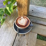 Coffee at the Red Shed Espresso Bar Mooloolaba