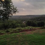 Morning view of the Hill Country.