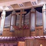 Inside the sanctuary, Pipe Organ