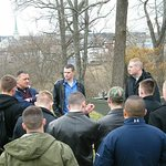 UVA Army ROTC Battle Staff Ride with Official Studeb