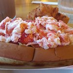 The lobster roll.