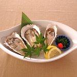 生牡蛎3種