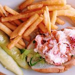 Best lobster roll in Rockport hands down! My favorite out of all the rolls I had there. Perfect