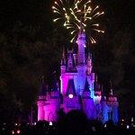 WISHES nightly fireworks show @ The Magic Kingdom