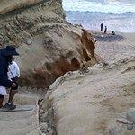 the beach trail.