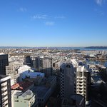 View towards city