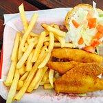 Lake Perch sandwich - tasty!