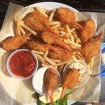 Fried Shrimp and fries