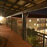 The Esplanade Hotel Port Hedland balcony off bedroom