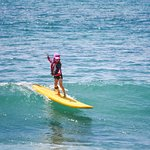 Surfing, windsurfing og kitesurfing