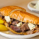 Philippe's french dip plate